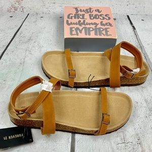 Sandals w/ankle strap Multiple Sizes Forever 21